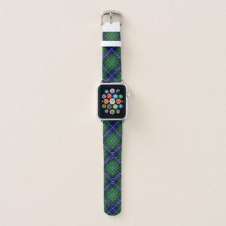 Scottish Style Clan Douglas Tartan Plaid Apple Watch Band