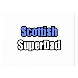 Scottish SuperDad Post Card