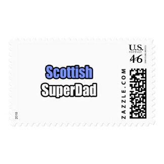 Scottish SuperDad Stamp