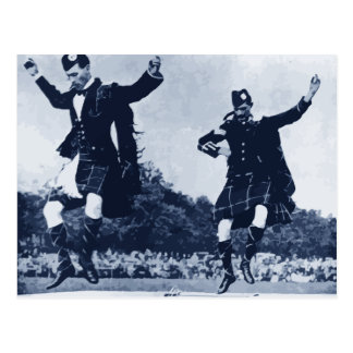 Scottish Sword Dance Postcard