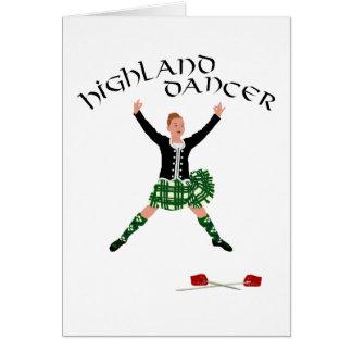 Scottish Sword Dancer - Ghillie Callum Card