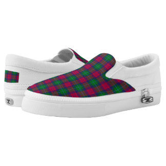 Scottish Tartan Akins Plaid Printed Shoes
