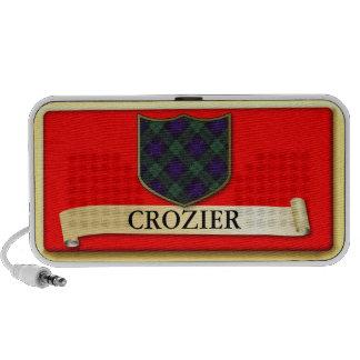 Scottish Tartan design - Crozier - Personalise Laptop Speakers