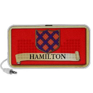 Scottish Tartan design - Hamilton - Personalise iPod Speaker