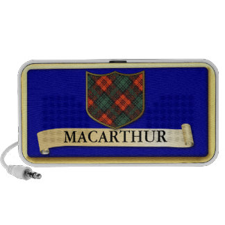 Scottish Tartan design - MacArthur - Personalise Speaker