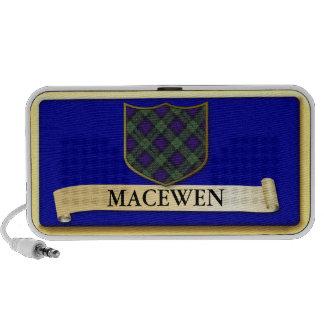 Scottish Tartan design - Macewen - Personalise iPod Speaker