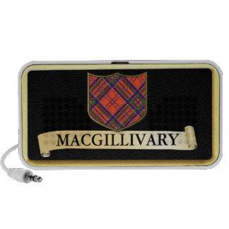 Scottish Tartan design - Macgillivary Personalise PC Speakers
