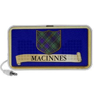 Scottish Tartan design - Macinnes - Personalise iPod Speakers