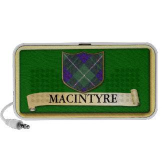 Scottish Tartan design - Macintyre - Personalise PC Speakers