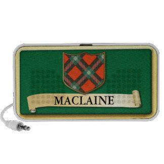 Scottish Tartan design - Maclaine of Lochbuie Laptop Speakers