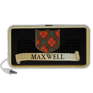 Scottish Tartan design - Maxwell Personalise Mp3 Speakers