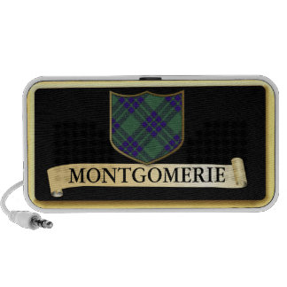 Scottish Tartan design - Montgomerie Personalise Portable Speakers