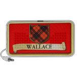 Scottish Tartan design - Wallace - Personalise Laptop Speakers