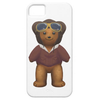 Scottish Teddy Bear  - white iPhone SE/5/5s Case