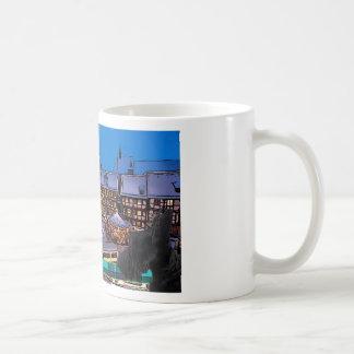 Scottish Terrier メリークリスマス Coffee Mugs