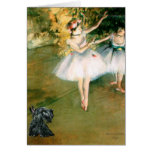 Scottish Terrier 12 - Two Dancers Card