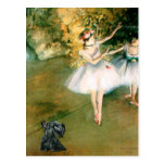 Scottish Terrier 12 - Two Dancers Post Card