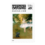 Scottish Terrier 12 - Two Dancers Stamps