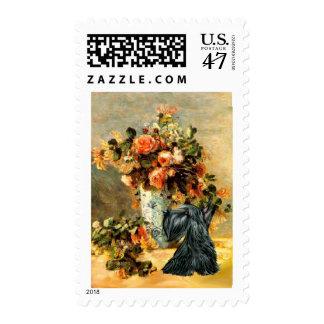 Scottish Terrier 12 - Vase of Flowers Postage