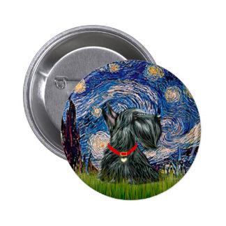 Scottish Terrier 12c -Starry Night Pins