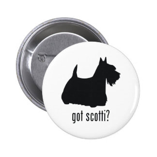 Scottish Terrier 2 Inch Round Button