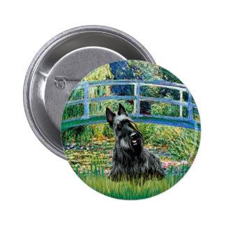 Scottish Terrier 3 - Bridge Pinback Buttons