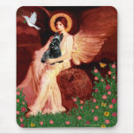 Scottish Terrier 3 - Seated Angel Mouse Pad