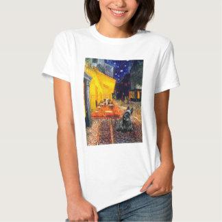 Scottish Terrier 3 - Terrace Cafe T Shirts