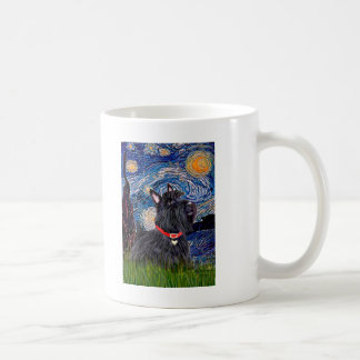 Scottish Terrier 6 - Starry Night (Vertical) Mugs