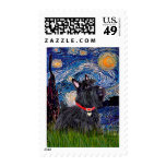 Scottish Terrier 6 - Starry Night (Vertical) Stamps