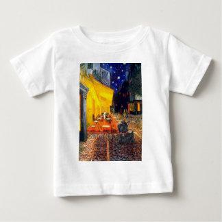 Scottish Terrier 6 - Terrace Cafe T-shirt