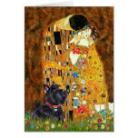 Scottish Terrier 6 - The Kiss Greeting Cards