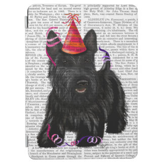 Scottish Terrier and Party Hat iPad Air Cover