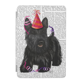 Scottish Terrier and Party Hat iPad Mini Cover
