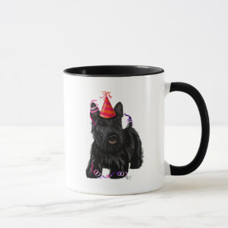Scottish Terrier and Party Hat Mug
