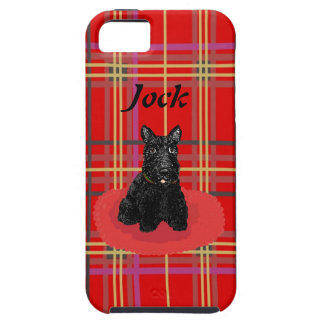 Scottish Terrier and Plaid or Tartan iPhone cases iPhone SE/5/5s Case