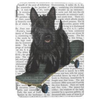 Scottish Terrier and Skateboard iPad Air Cover