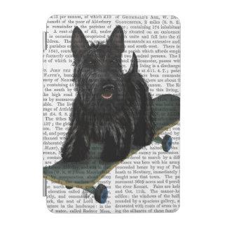 Scottish Terrier and Skateboard iPad Mini Cover