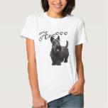 Scottish Terrier Aroooo T Shirts