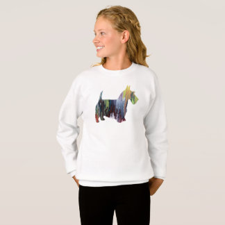 Scottish Terrier Art Sweatshirt