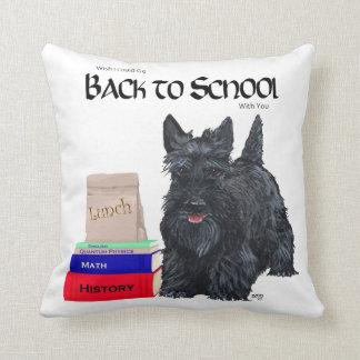 Scottish Terrier Back to School Pillow
