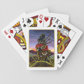 Scottish Terrier Bagpipe Dog Playing Cards Card Decks