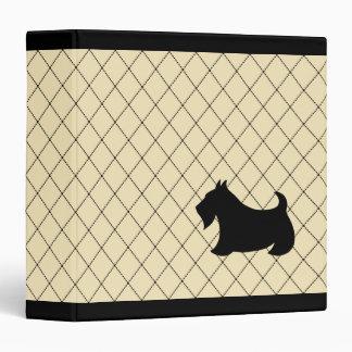 Scottish Terrier Binder