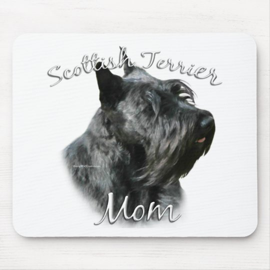 Scottish Terrier (blk) Mom 2 Mouse Pad