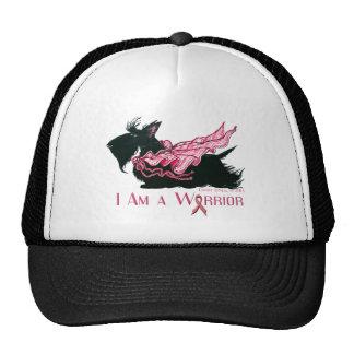 Scottish Terrier Breast Cancer Warrior Trucker Hat