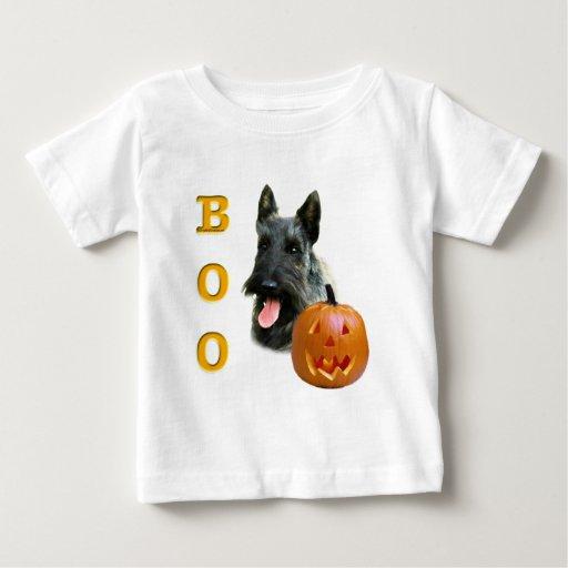 Scottish Terrier (brindle) Boo Tshirts