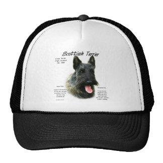 Scottish Terrier (brindle) History Design Trucker Hat
