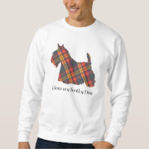 Scottish Terrier Buchanan Tartan Sweatshirt