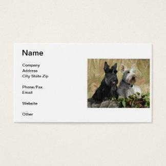 Scottish Terrier Business Card
