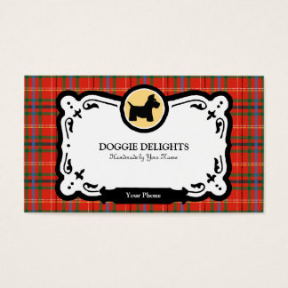 Scottish Terrier Business Card or Pet Packaging